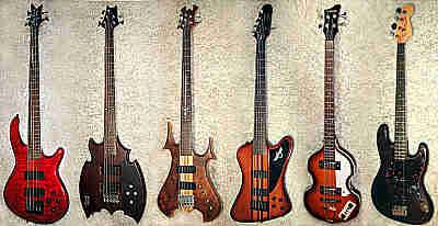 Bass-Gitarren