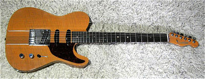 E-Gitarre COLLINS Roadmaster Pro, gebraucht