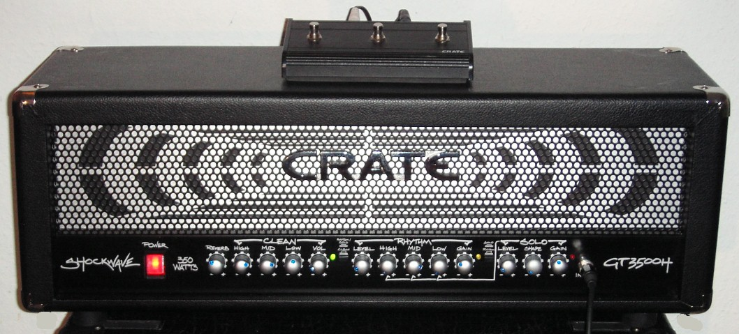 Gitarrenverstärker CRATE GT3500H
