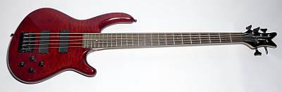 E-Bass DEAN Edge Q5, gebraucht