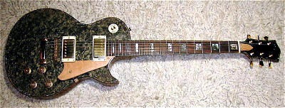 E-Gitarre DIMAVERY LP Anniversary Les Paul Nachbau