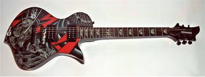 E-Gitarre FERNANDES Ravelle Shin Demon Limited Edition
