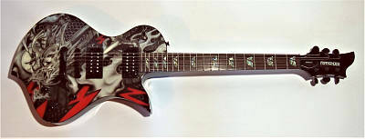 E-Gitarre FERNANDES Ravelle Shin Dragon Limited Edition