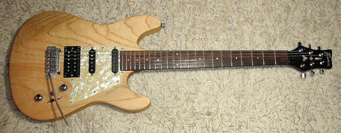 E-Gitarre FRAMUS Diablo Pro Nature