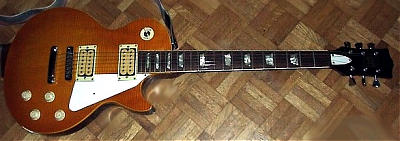 E-Gitarre Les Paul Nachbau