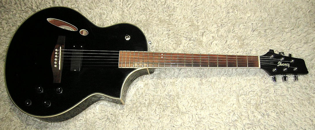 Hybridgitarre IBANEZ Montage MSC350