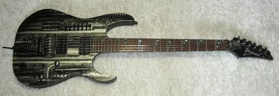 E-Gitarre IBANEZ RGT-HRG1 - H.R.Geiger Design