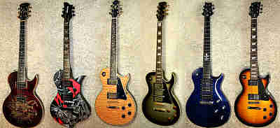 Les Paul style E-Gitarren