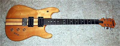 E-Gitarre OAKLAND XS-100, 70er Jahre by MATSUMOKU