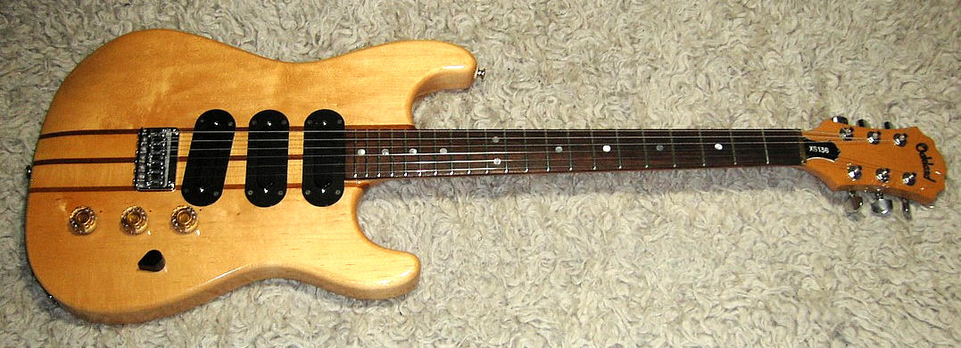 E-Gitarre OAKLAND XS 136, 70er Jahre by MATSUMOKU - Made in Japan