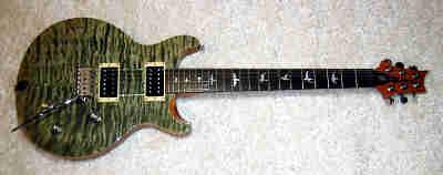 E-Gitarre PRS SE Santana Trampas Green Ltd. Edition
