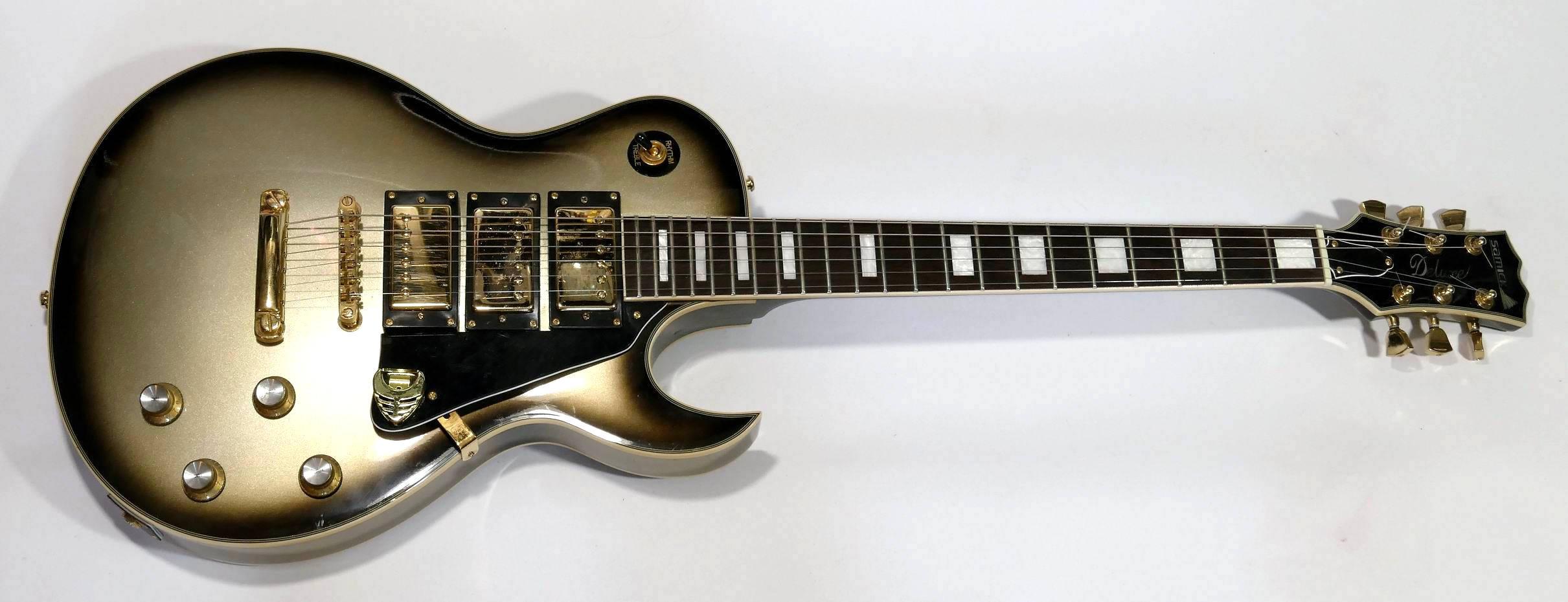 E-Gitarre SAMICK LP DeLuxe