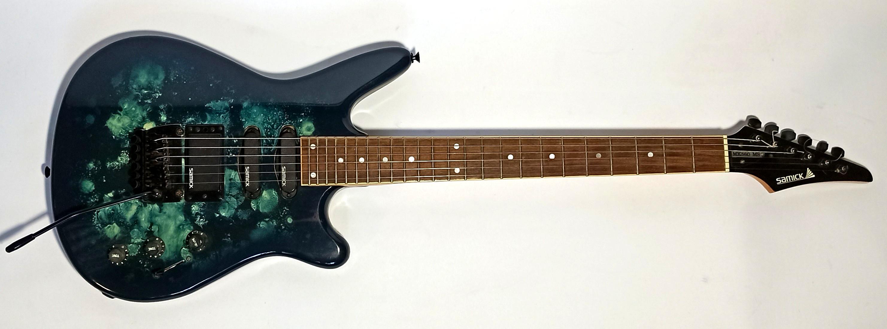 E-Gitarre SAMICK MK 560 MS, gebraucht