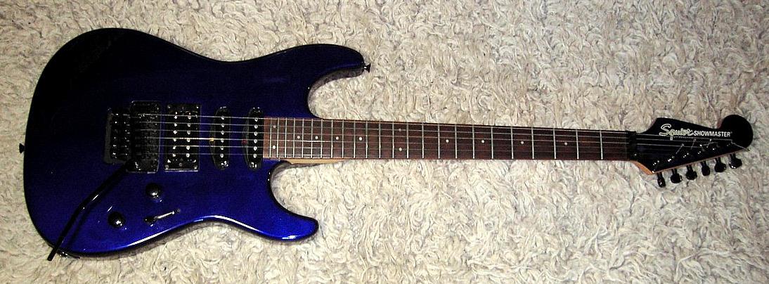 E-Gitarre SQUIER Showmaster, gebraucht