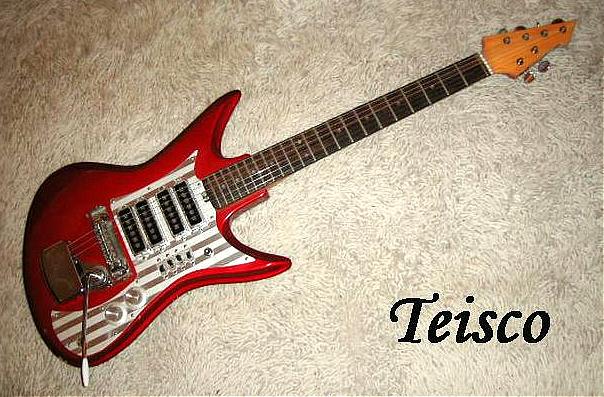 E-Gitarre TEISCO ET-460