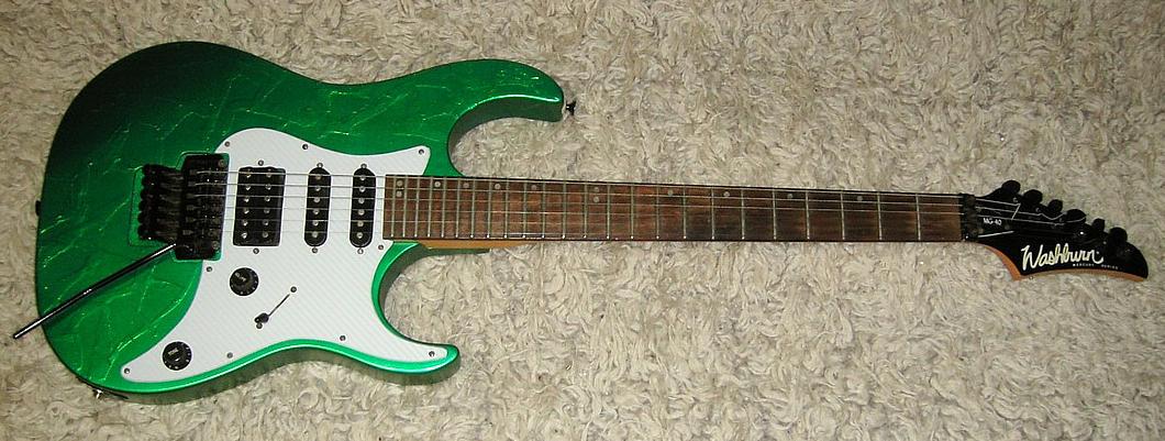 E-Gitarre WASHBURN Mercury