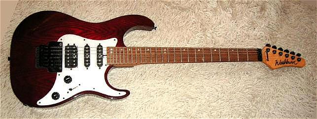 E-Gitarre WASHBURN Mercury, neuwertig