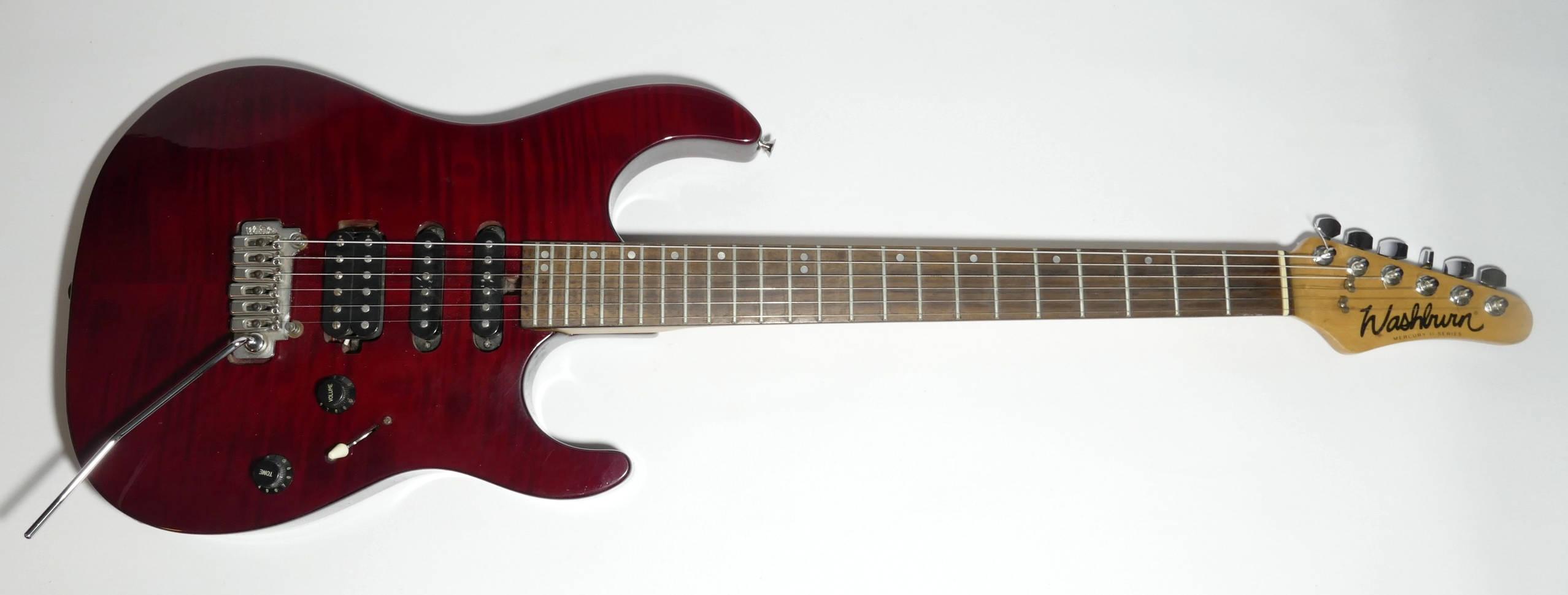 E-Gitarre WASHBURN Mercury II MG-701