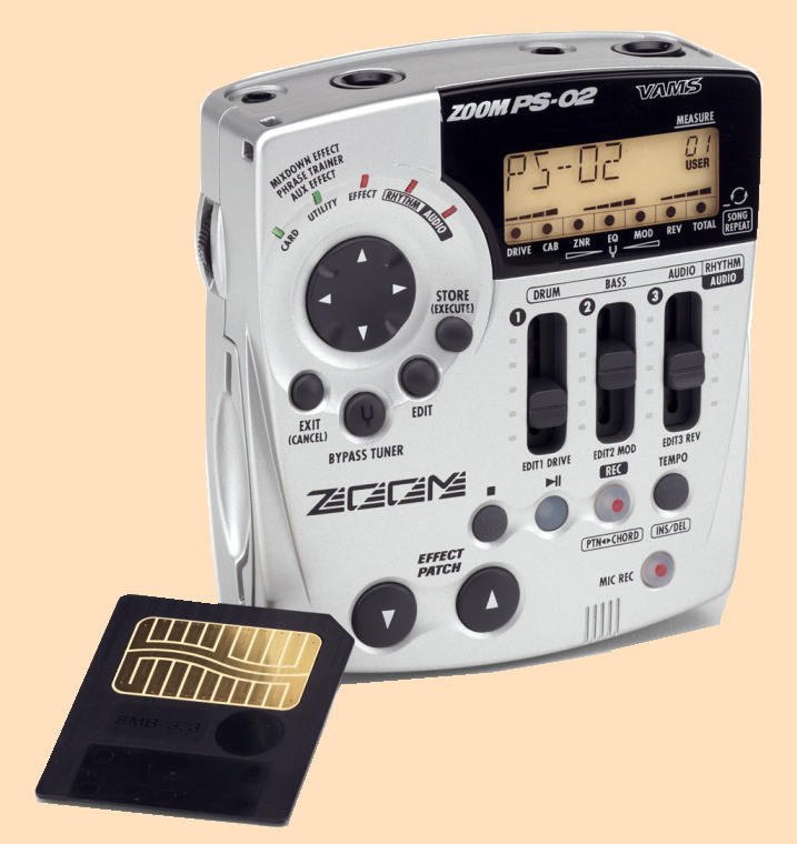 Portable Studio ZOOM PS-02