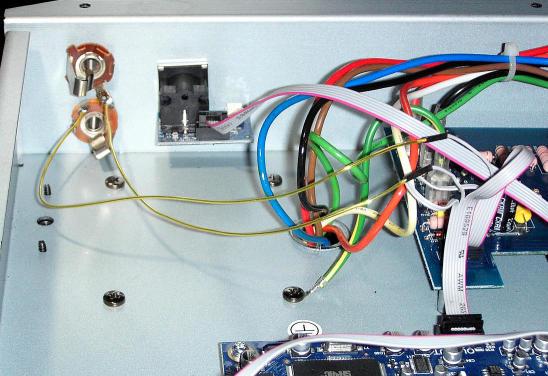 Schaltung für einen Send-/Return-Weg im                  PEAVEY Vypyr Amp
