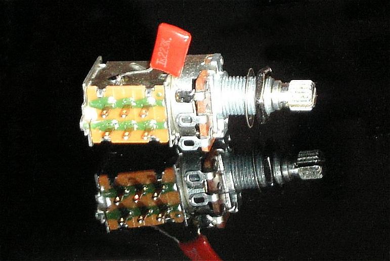 Tonabnehmer-Splitting - Push/Pull-Poti
